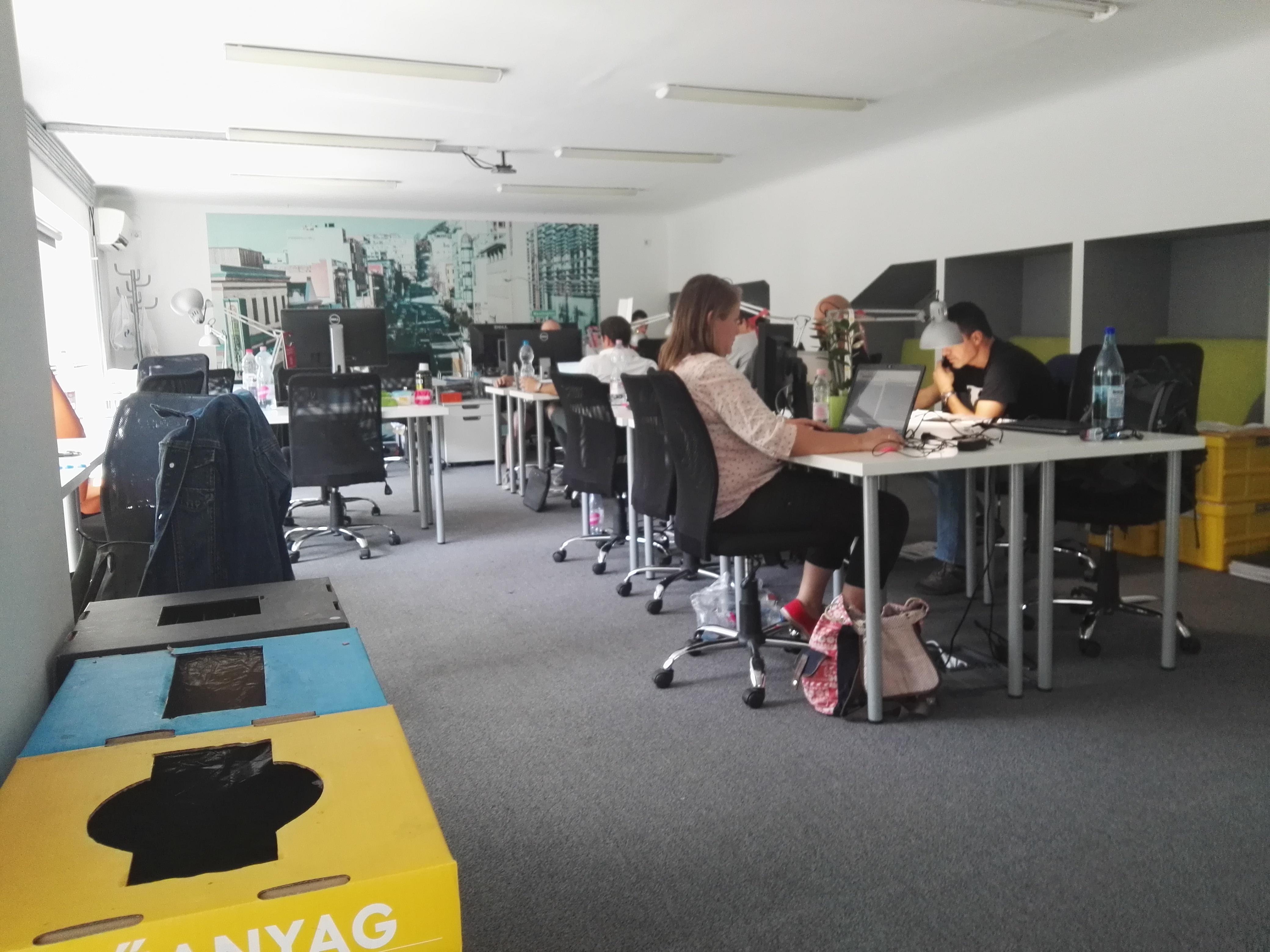 coworking irodaban